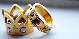 Inspirasi Cincin Pernikahan Terunik di Dunia