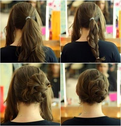 Sanggul Easy Braided Bun