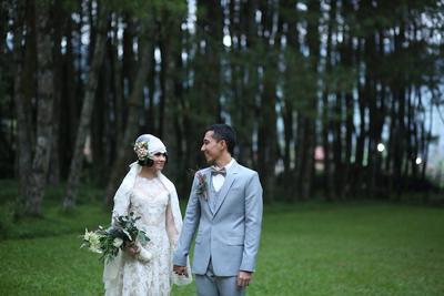 Indahnya Pesta Pernikahan Andien