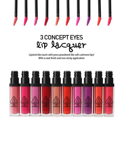 3 Concept Eyes Lip Lacquer (Review)