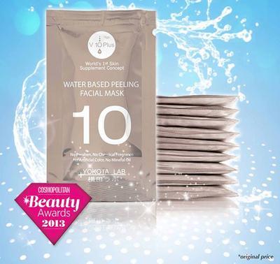 V10 Plus Water-based Peeling Facial Mask (Review)