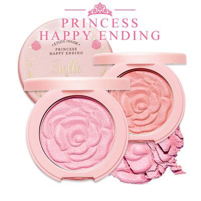 Etude House Princess Happy Ending Rose Cheek Blusher (Review)