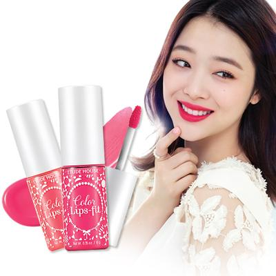 Review: Etude House Color Lips-Fit
