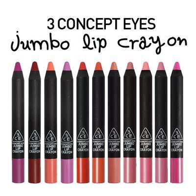 3 Concept Eyes Jumbo Lip Crayon