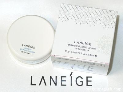 Review Pengguna: Laneige Snow BB Soothing Cushion
