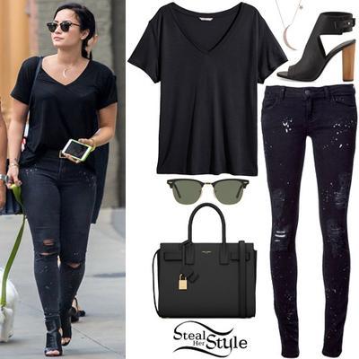 Style ala Demi Lovato
