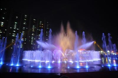 Dadaepo Sunset Fountain of Dream