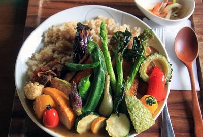 1. Kenyang dengan sayuran
