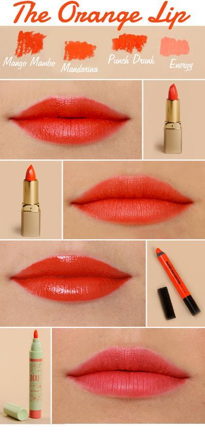 Orange x Beige