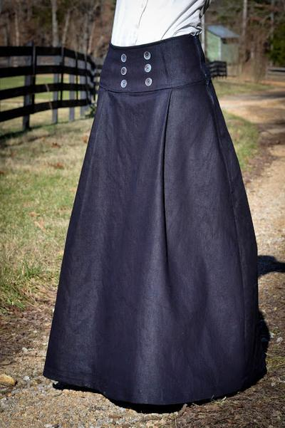 Long Sailor Skirt