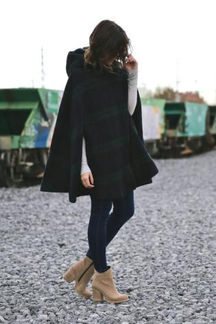 Mix n Match Cape Blazer