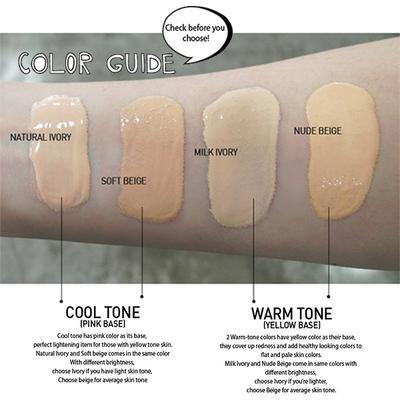 Daftar Warna-warna Undertone