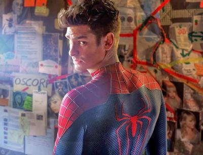 2. Andrew Garfield,Spiderman