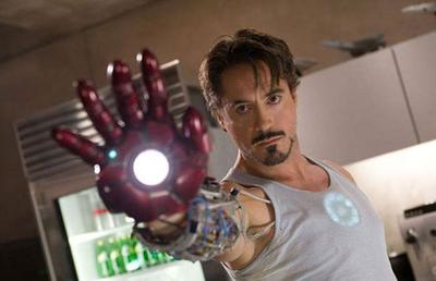 3. Robert Downey Jr., Iron Man