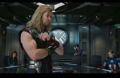 5.  Chris Hemsworth, Thor