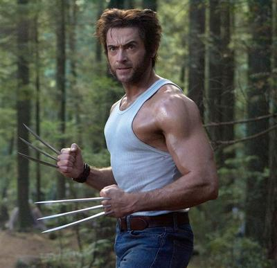7. Hugh Jackman, Wolverine