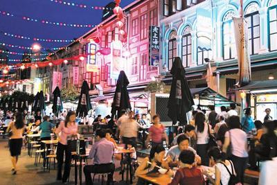 Lezatnya Kuliner Kaki Lima di Singapura