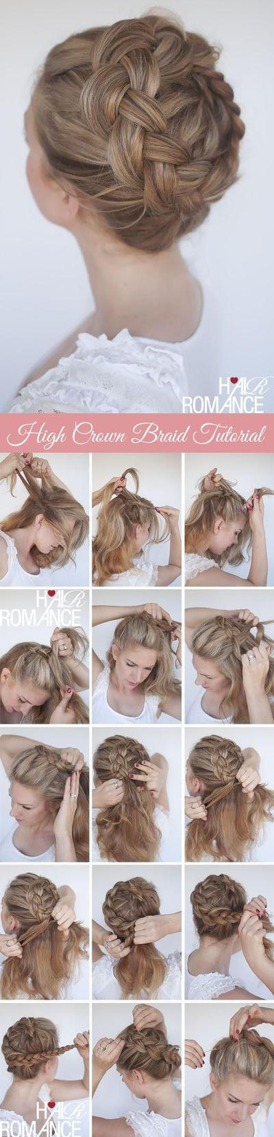 High Crown Braided Style