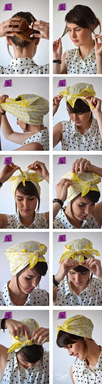 Classic Headscarf Style