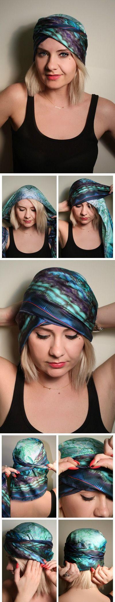 Beach Headscarf Style