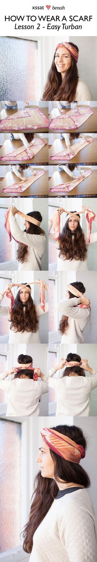 Turban Headscarf Style