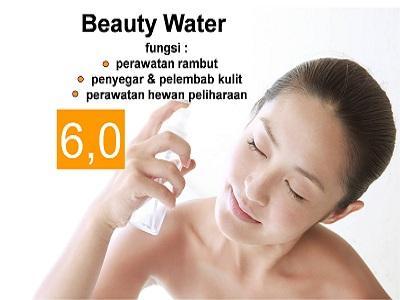 2. Beauty Water (pH 4,0-6,0)