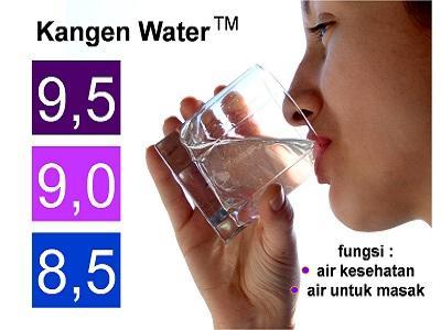 4. Kangen Water (pH 8,5-9,5)