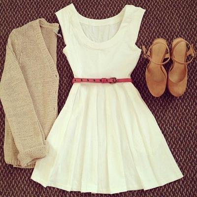 Tips Mempercantik Summer White Dress