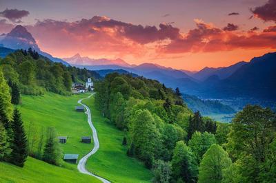 Garmisch-Partenkirchen, Bavaria, Jerman