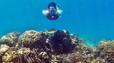 Snorkeling di Pulau Kodingareng Keke
