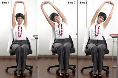 2. Gerakkan Otot Perut Begitu Ada Waktu