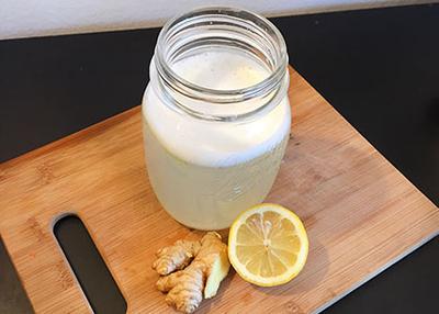 5. Air Lemon dan Jahe
