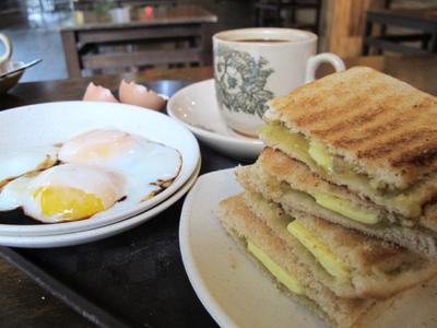Renyahnya Kaya Toast dan Telur
