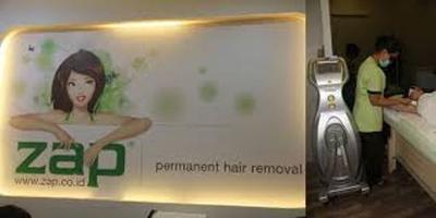 Rekomendasi Salon Penghilang Bulu: ZAP