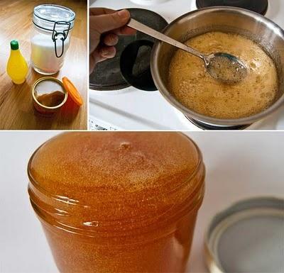 Bahan-Bahan Sugar Wax:
