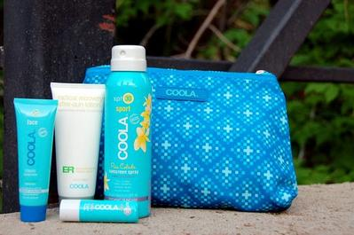 3. Coola 4-Piece Organic Suncare Travel Set