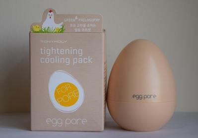 6. Tonymoly Egg Pore Tightening Pack