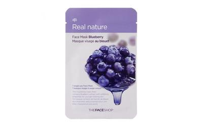 8. The Face Shop Real Nature Blueberry