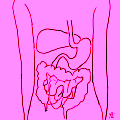 1. Masalah pada Organ Pencernaan