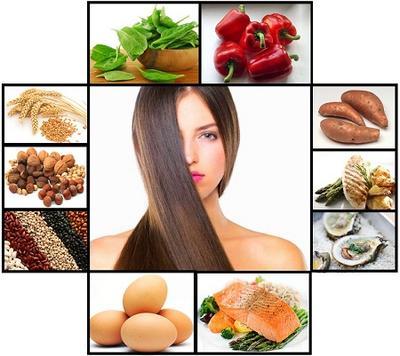 Makanan Sebagai Solusi Masalah Rambut