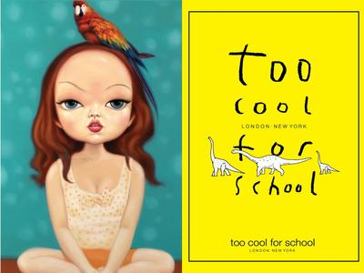 Review: Too Cool For School Glossy Blaster Tint