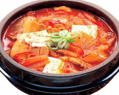 Kimchi Jjigae atau Sup Kimchi