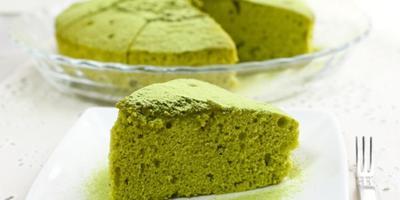 Kue Chiffon Green Tea