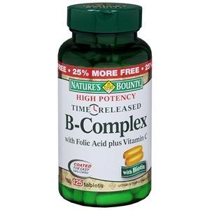 Vitamin B Complex & Folic Acid