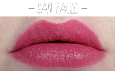 3. NYX Soft Matte Lip Cream Sao Paulo