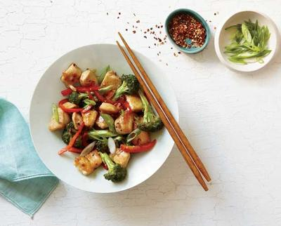 Orange Chicken and Broccoli Stir-Fry