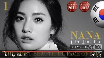 100 Most Beautiful Faces of 2015