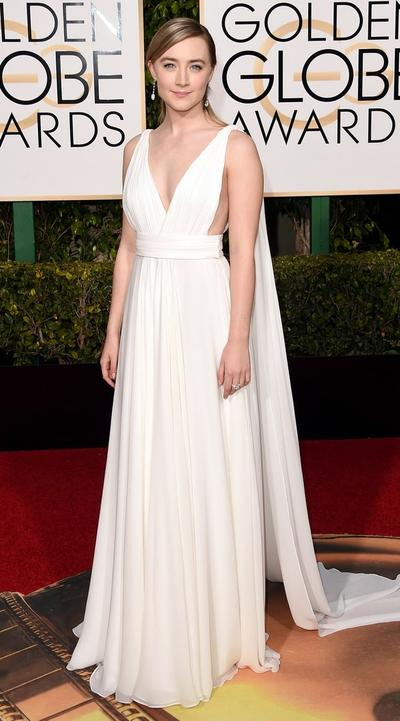 Parade Gaun Putih di Golden Globe 2016