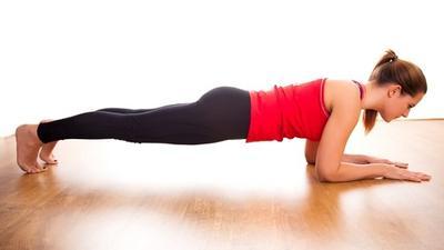 5. Triceps-dip & Plank