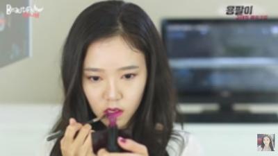 8. Bibir Gradasi yang Glossy